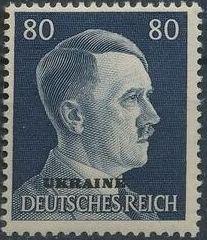 German Occupation-Ukraine 1941 Stamps of German Reich Overprinted in Black r.jpg