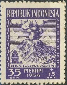 Indonesia 1954 Surtax for Victims of the Merapi Volcano Eruption b.jpg