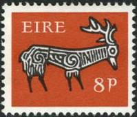Ireland 1968 Old Irish Animal Symbols b.jpg