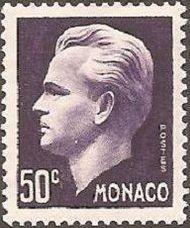 Monaco 1950 Prince Rainier III