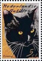 Netherlands Antilles 2003 Cats