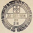Portugal 1954 150th Anniversary of the Founding of the State Secretariat for Financial Affairs PMa.jpg