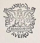 Portugal 1959 Millennium and Bicentennial of Aveiro City PMc.jpg