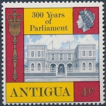 Antigua 1969 300th Anniversary of Antigua Parliament