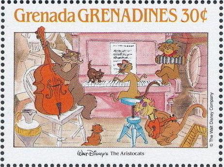 Grenada Grenadines 1988 The Disney Animal Stories in Postage Stamps 6g.jpg