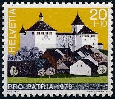 Switzerland 1976 PRO PATRIA - Castles