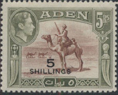 Aden 1951 King George VI Pictorials with New Values j.jpg