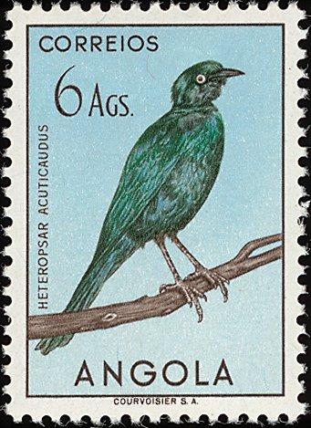 Angola 1951 Birds from Angola o.jpg