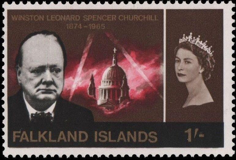 Falkland Islands 1966 Churchill Memorial c.jpg