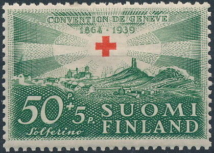 Finland 1939 75th Anniversary of the International Red Cross Society