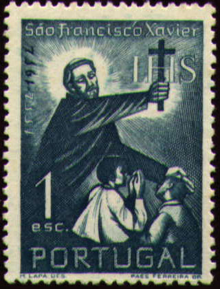 Portugal 1952 400th Anniversary of the Death of St. Francis Xavier