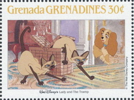 Grenada Grenadines 1988 The Disney Animal Stories in Postage Stamps 5d.jpg