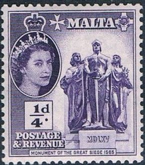 Malta 1956 Elizabeth II