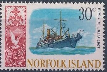 Norfolk Island 1968 Ships - Definitives (4th Issue)