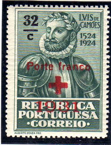 Portugal 1931 Red Cross - 400th Birth Anniversary of Camões b.jpg