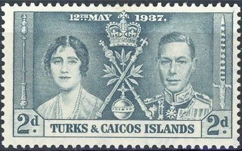 Turks and Caicos Islands 1937 George VI Coronation b.jpg