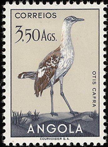 Angola 1951 Birds from Angola k.jpg