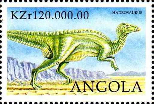 Angola 1998 Prehistoric Animals (3rd Group)