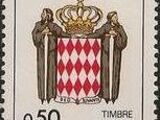 Monaco 1986 National Coat of Arms - Postage Due Stamps (2nd Group)
