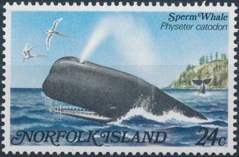 Norfolk Island 1982 Whales