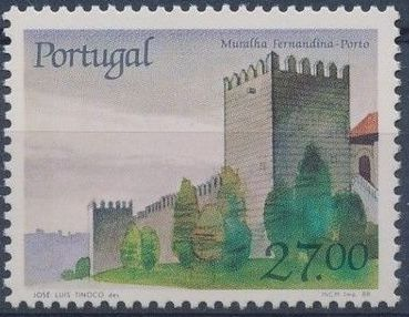 Portugal 1988 Castles and Coat of arms of Portugal (7th series)
