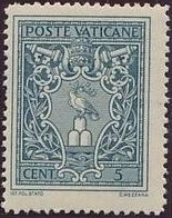 Vatican City 1945 Arms and Effigy of Pope Pius XII a.jpg