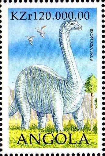 Angola 1998 Prehistoric Animals (2nd Group)