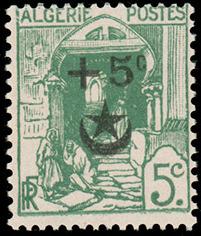 Algeria 1927 Semi-Postal Stamps