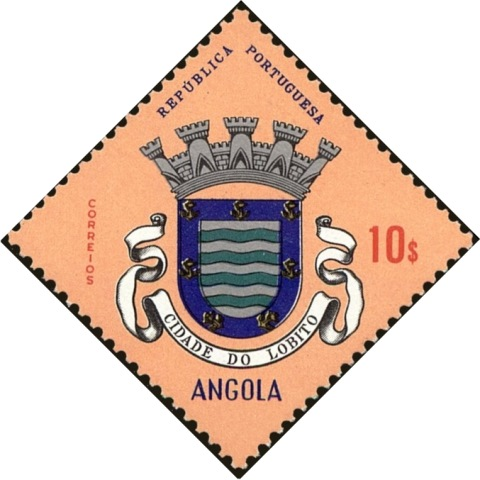 Angola 1963 Coat of Arms - (1st Serie) m.jpg