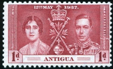 Antigua 1937 George VI Coronation