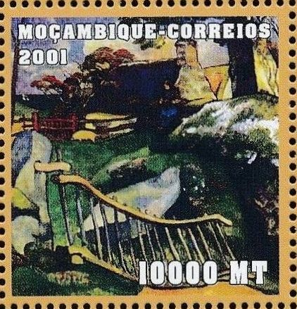 Mozambique 2001 Paintings - Paul Gauguin