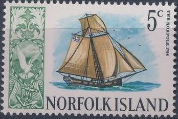 Norfolk Island 1967 Ships - Definitives (2nd Issue)