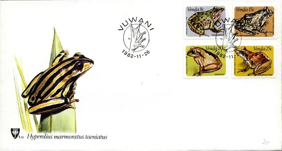 Venda 1982 Frogs FDCa.jpg