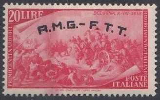 Trieste-Zone A 1948 Centenary of the uprisings of 1848-49 i.jpg