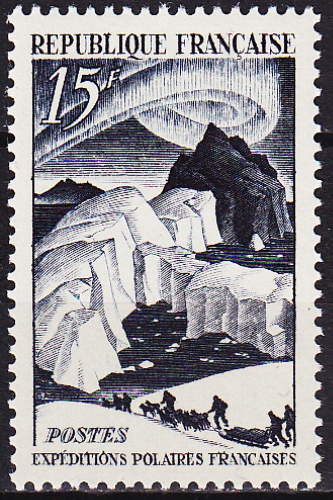 France 1949 French Polar Explorations