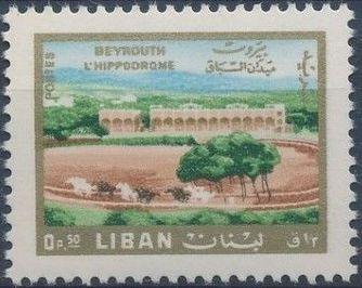 Lebanon 1966 Landscapes - Regular Stamps
