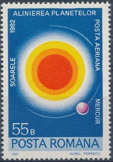 Romania 1981 Solar System Planets