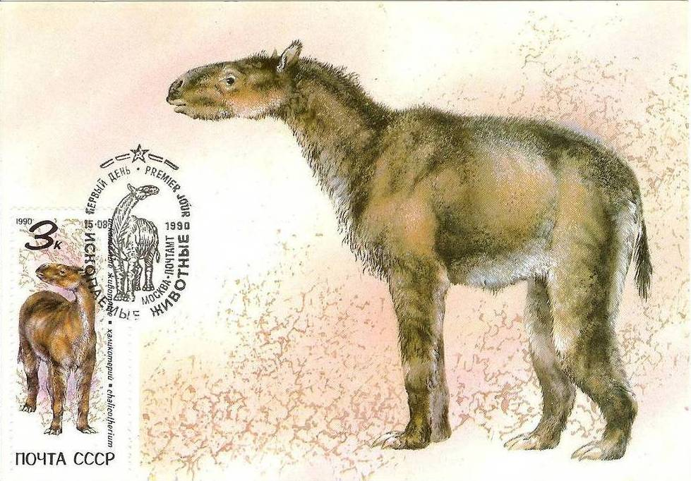 Soviet Union (USSR) 1990 Prehistoric Animals MCb.jpg