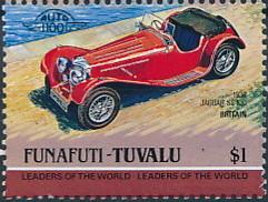 Tuvalu-Funafuti 1984 Leaders of the World - Auto 100 (1st Group) l.jpg