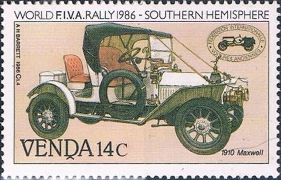 Venda 1986 FIVA World Classic Car Rally