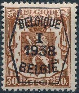 Belgium 1938 Coat of Arms - Precancel (1st Group) d.jpg