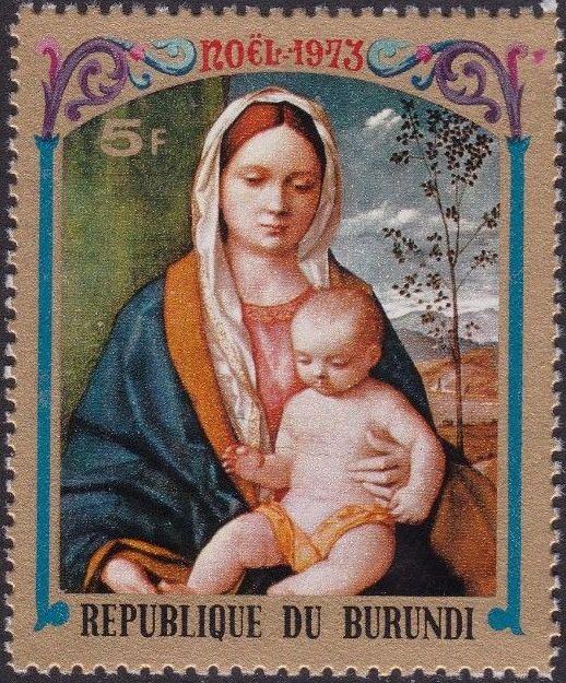 Burundi 1973 Christmas