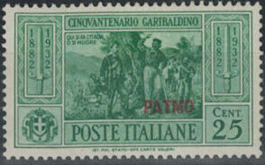 Italy (Aegean Islands)-Patmo 1932 50th Anniversary of the Death of Giuseppe Garibaldi c.jpg