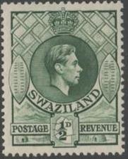 Swaziland 1938 George VI