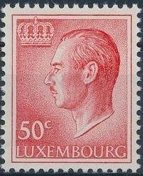 Luxembourg 1965 Grand Duke Jean