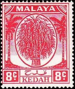 Malaya-Kedah 1950 Definitives f.jpg