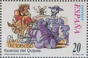 "Spain 1998 Scenes from ""Don Quixote"" n.jpg"