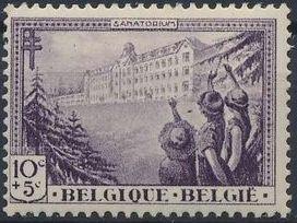 Belgium 1932 National Anti-Tuberculosis Society at Waterloo
