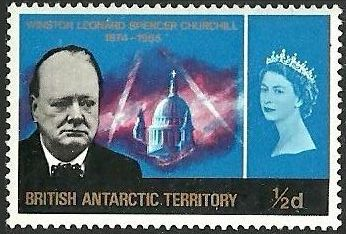 British Antarctic Territory 1966 Churchill Memorial a.jpg