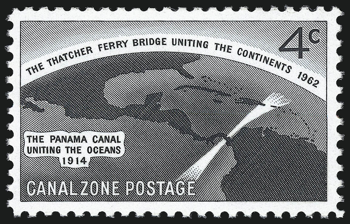 Canal Zone 1962 Opening of the Thatcher Ferry Bridge, Spanning the Panama Canal b.jpg